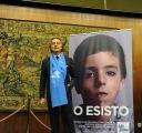 Roma, 6 dicembre 2012. Rai, presentazione di Telethon. Con Luca Cordero di Montezemolo
