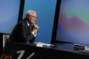 Foto/IPP/Gioia Botteghi 09/12/2012 Roma In Mezz'ora Lucia Annunziata intervista Cesare Geronzi