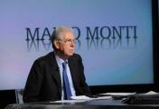 foto:IPP/Gioia Botteghi 23/12/2012 Roma, Mario Monti ospite di Lucia Annunziata nella trasmissione di rai tre In mezz'ora