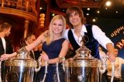 foto/IPP/Gioia Botteghi 17/03/2012 Roma, Puntata finale di Ballando con le stelle, nella foto : i vincitori Gil Andres e Anastasia Kuzmina