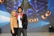 foto/IPP/Gioia Botteghi 21/03/2012 Roma, presentazione del nuovo Ballando con te, nella foto: Simone Biagi e----------( nel comunicato non è stato messo il nome)