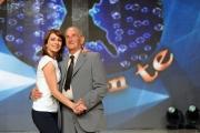 foto/IPP/Gioia Botteghi 21/03/2012 Roma, presentazione del nuovo Ballando con te, nella foto: Vicky Martin e Franco Sperati