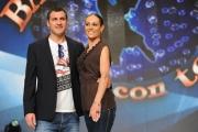 foto/IPP/Gioia Botteghi 21/03/2012 Roma, presentazione del nuovo Ballando con te, nella foto: Bobo Vieri e Natalia Titova