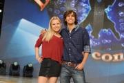foto/IPP/Gioia Botteghi 21/03/2012 Roma, presentazione del nuovo Ballando con te, nella foto: andres-gil-e-anastasia-kuzmina