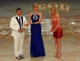 foto/IPP/Gioia Botteghi 24/03/2012 Roma, prima puntata di Ballando con te, nella foto: Milly Carlucci , Paolo Belli, Ria Antoniou