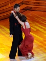 foto/IPP/Gioia Botteghi 24/03/2012 Roma, prima puntata di Ballando con te, nella foto: Luca Tarquinio e Samanta Togni