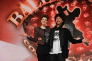 foto/IPP/Gioia Botteghi 04/01/2012 Roma, Presentazione dell'ottava edizione di Ballando con le stelle, nella foto: Claudia Andreatti e Samuel Peron