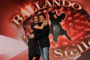 foto/IPP/Gioia Botteghi 04/01/2012 Roma, Presentazione dell'ottava edizione di Ballando con le stelle, nella foto: Lucrezia Lante della Rovere e Simone Di Pasquale