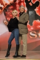 foto/IPP/Gioia Botteghi 04/01/2012 Roma, Presentazione dell'ottava edizione di Ballando con le stelle, nella foto: Gianni Rivera con Yulia Musikhina