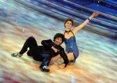 foto/IPP/Gioia Botteghi 07/01/2012 Roma, Prima punta di BALLANDO CON LE STELLE, nella foto: Claudia Andreatti e Samuel Peron
