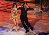 foto/IPP/Gioia Botteghi 07/01/2012 Roma, Prima punta di BALLANDO CON LE STELLE, nella foto: Marco DELVECCHIO e Sara Di Vaira