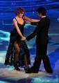 foto/IPP/Gioia Botteghi 07/01/2012 Roma, Prima punta di BALLANDO CON LE STELLE, nella foto: Lucrezia Lante Della Rovere e Simone Di Pasquale