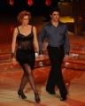 foto/IPP/Gioia Botteghi 21/01/2012 Roma, terza puntata di Ballando con le stelle, nella foto: Lucrezia Lante Della Rovere e Simone Di Pasquale
