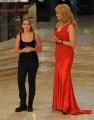 foto/IPP/Gioia Botteghi 21/01/2012 Roma, terza puntata di Ballando con le stelle, nella foto: Laura Esquivel e Milly Carlucci