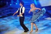 foto/IPP/Gioia Botteghi 21/01/2012 Roma, terza puntata di Ballando con le stelle, nella foto: Gil Andres e Laura Esquivel