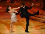 foto/IPP/Gioia Botteghi 21/01/2012 Roma, terza puntata di Ballando con le stelle, nella foto: Alex Belli e Samanta Togni