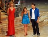 foto/IPP/Gioia Botteghi 21/01/2012 Roma, terza puntata di Ballando con le stelle, nella foto: Laura Esquivel e Milly Carlucci con Ferdinando Iannacone