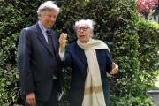 foto/IPP/Gioia Botteghi Roma, 12 aprile 2012. Rai, presentazione del David di Donatello, nella foto Ginluigi Rondi, Paolo Protti
