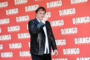 Foto/Gioia Botteghi 04/01/2013 Roma Presentazione del film DJANGO, nella foto: Quentin Tarantino