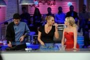 Foto/Gioia Botteghi 06/01/2013 Roma La prova del cuoco lotteria serata finale, nella foto: Antonella Clerici Barbara De Rossi