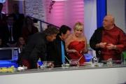 Foto/Gioia Botteghi 06/01/2013 Roma La prova del cuoco lotteria serata finale, nella foto: Antonella Clerici   Bobby Solo Little Tony