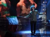 Foto/Gioia Botteghi 11/01/2013 Roma  trasmissione rai uno RIUSCIRANNO I NOSTRI EROI, nella foto: Simone Cristicchi