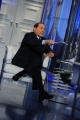 Foto/IPP/Gioia Botteghi 09/01/2013 Roma Berlusconi a porta a porta