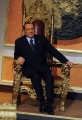 Foto/IPP/Gioia Botteghi 11/01/2013 Roma Berlusconi a Telecamere
