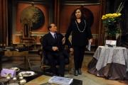 Foto/IPP/Gioia Botteghi 11/01/2013 Roma Berlusconi a Telecamere con Anna La Rosa
