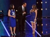 Foto/Gioia Botteghi 19/01/2013 Roma  trasmissione rai I MIGLIORI ANNI, nella foto: Paola e Chiara con Carlo Conti
