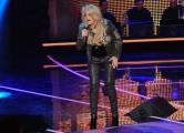 Foto/Gioia Botteghi 19/01/2013 Roma  trasmissione rai I MIGLIORI ANNI, nella foto:  Bonnie Tyler