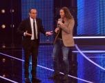 Foto/Gioia Botteghi 19/01/2013 Roma  trasmissione rai I MIGLIORI ANNI, nella foto: Povia con Carlo Conti