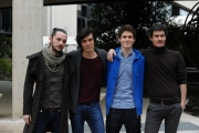 Foto/Gioia Botteghi 20/01/2013 Roma Presentazione ad uno mattina dei giovani di San Remo, nalla foto: Blastema