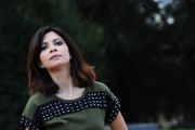 Foto/Gioia Botteghi 22/01/2013 Roma Presentazione della fiction di mediaset IL CLAN DEI CAMORRISTI, nella foto: Claudia Potenza