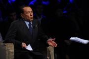 Foto/Gioia Botteghi 05/02/2013 Roma Berlusconi ospite di Ballarò