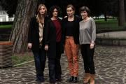 Foto/Gioia Botteghi 05/02/2013 Roma visita sul set de UNA MAMMA IMPERFETTA, 25 episodi da 8 minuti in onda su raidue ad aprile, nella foto le protagoniste femminili