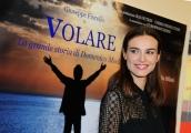 Foto/Gioia Botteghi 07/02/2013 Roma Presentazione della fiction di raiuno Volare, nella foto: Kasia Smutniak
