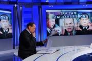 Foto/IPP/Gioia Botteghi 11/02/2013 Roma Berlusconi ad unomattina con Franco Di Mare