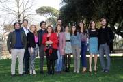 Foto/Gioia Botteghi 19/02/2013 Roma presentazione della fiction di raiuno, CHE DIO CI AIUTI 2, nella foto: il cast
