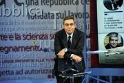 Foto/Gioia Botteghi 01/03/2013 Roma ad AGORA' il passaggio di conduzione da Andrea Vianello a Gerardo Greco