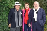 Foto/Gioia Botteghi 01/03/2013 Roma presentazione della Fiction UN MEDICO IN FAMIGLIA 8, nella foto :  i  Banfi con Albano