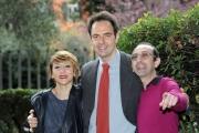 Foto/IPP/Gioia Botteghi 12/03/2013 Roma Neri Marcorè presenta il programma di raitre Neripoppins, nalla foto Paola Minaccioni e Giovanni Esposito