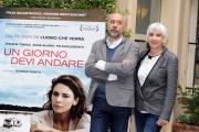 Foto/IPP/Gioia Botteghi 25/03/2013 Roma presentazione del film UN GIORNO DEVI ANDARE, nella foto: Giorgio Diritti, Pia Engleberth