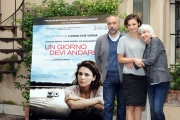 Foto/IPP/Gioia Botteghi 25/03/2013 Roma presentazione del film UN GIORNO DEVI ANDARE, nella foto: Jasmine Trinca, Giorgio Diritti, Pia Engleberth