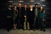 Foto/IPP/Gioia Botteghi 27/03/2013 Roma presentazione della serie televisiva SKY inTREATMENT, nella foto cast
