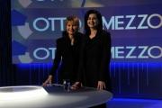 Foto/IPP/Gioia Botteghi 04/04/2013 Roma Laura Boldrini ospite del programma di Lilly Gruber otto e mezzo su La7