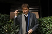 Foto/IPP/Gioia Botteghi 04/04/2013 Roma presentazione dela fiction di raiuno L'Ultimo Papa Re, nella foto: Gigi Proietti