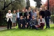 Foto/IPP/Gioia Botteghi 04/04/2013 Roma presentazione dela fiction di raiuno L'Ultimo Papa Re, nella foto: il cast con il regista Luca Manfredi