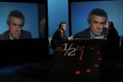 Foto/IPP/Gioia Botteghi 07/03/2013 Roma Fabrizio Barca ospite della trasmissione di Lucia Annunziata _ in mezz'ora