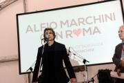 Foto/IPP/Gioia Botteghi 06/04/2013 Roma Alfio Marchini candidato sindaco per Roma durante la festa organizzata nella sede di Cittadinanza Romana